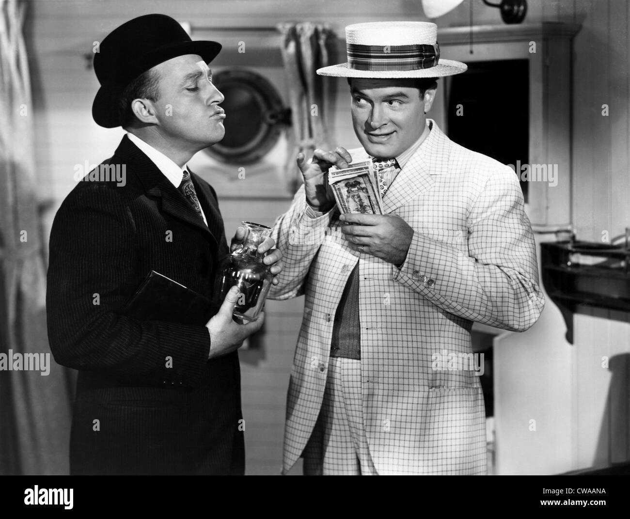 ROAD TO UTOPIA, Bing Crosby, Bob Hope, 1946.. Courtesy: CSU Archives / Everett Collection - Stock Image