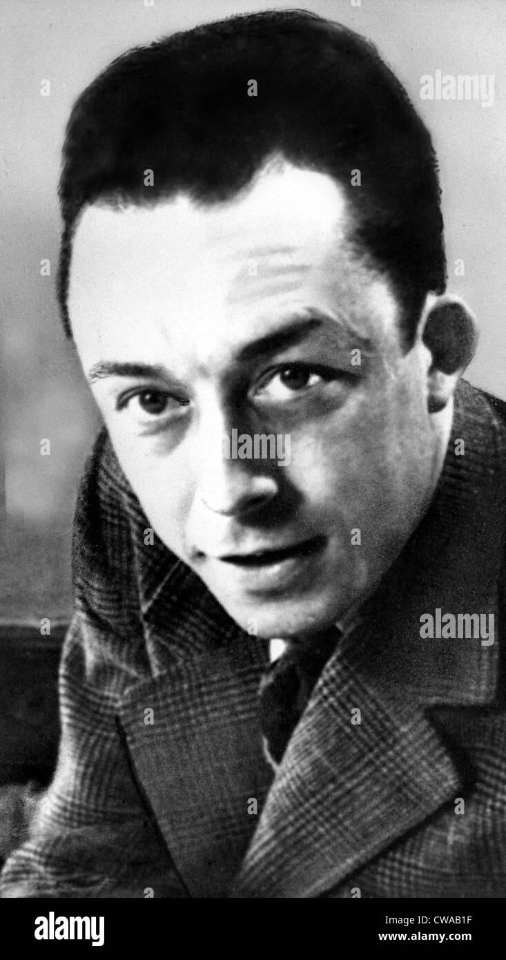 ALBERT CAMUS Author 1913 1960 Nobel Prize In Literature 1957