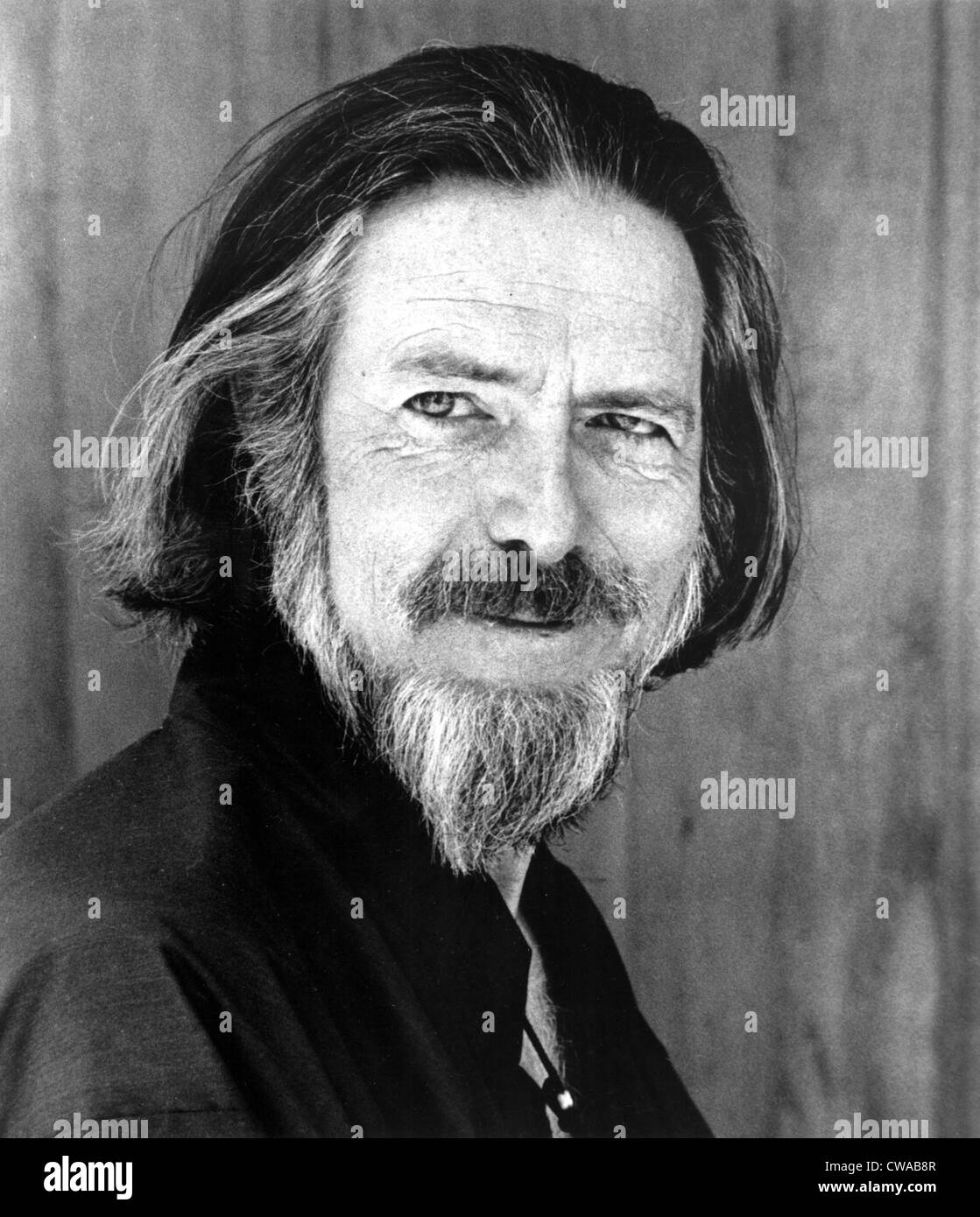 Alan Watts, early 1970s. Courtesy: CSU Archives / Everett Collection - Stock Image