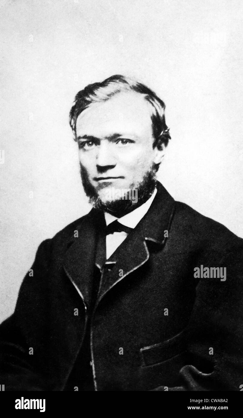 Andrew Carnegie, 1859.. Courtesy: CSU Archives / Everett Collection - Stock Image