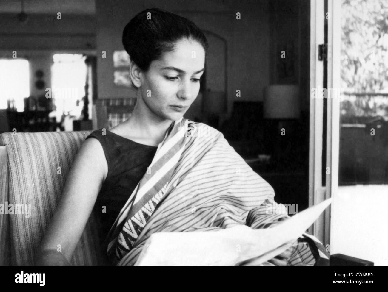 ANITA DESAI, Author, 1980.. Courtesy: CSU Archives / Everett Collection - Stock Image