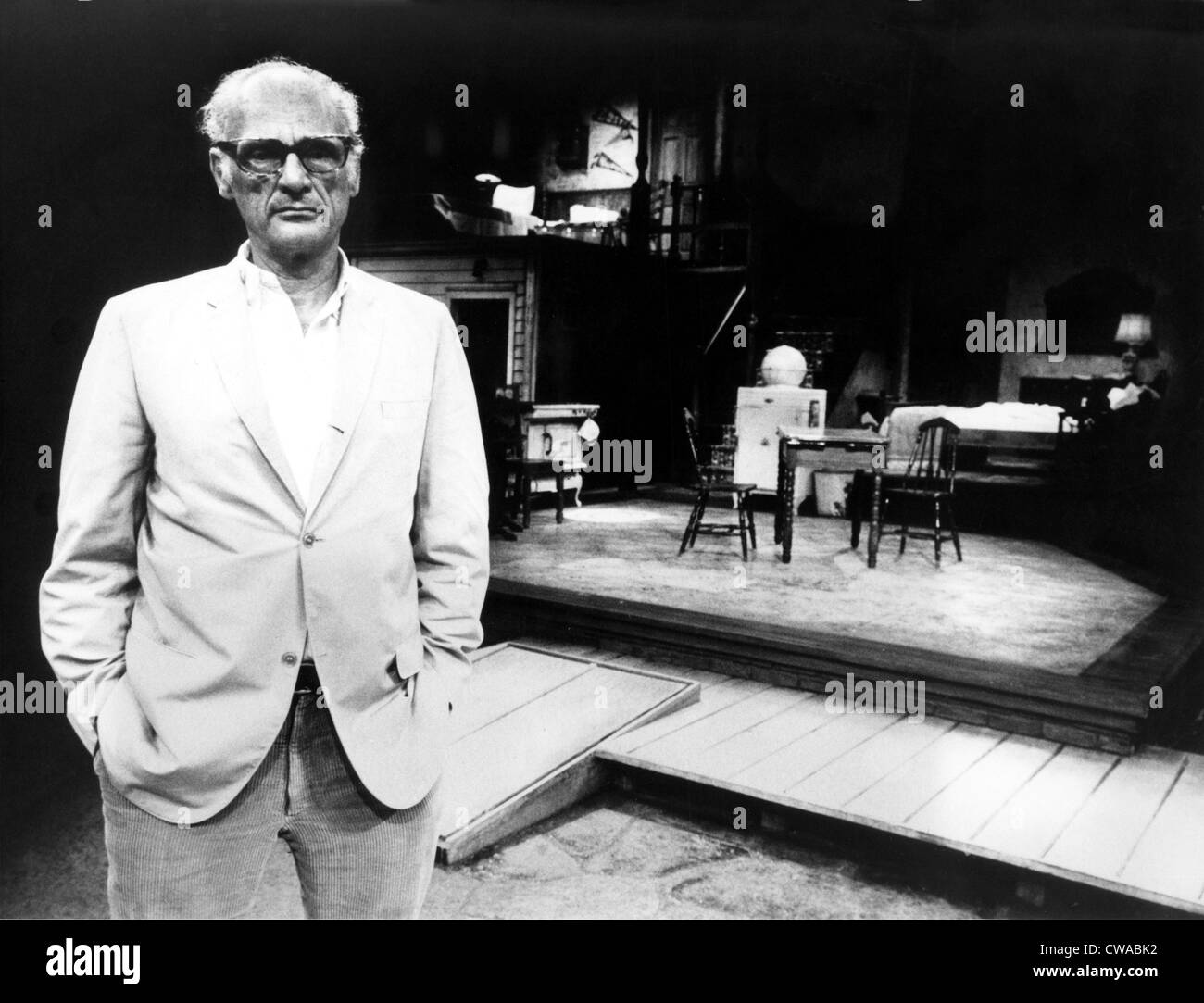 Arthur Miller, Playwright, 1970s. Courtesy: CSU Archives / Everett Collection - Stock Image