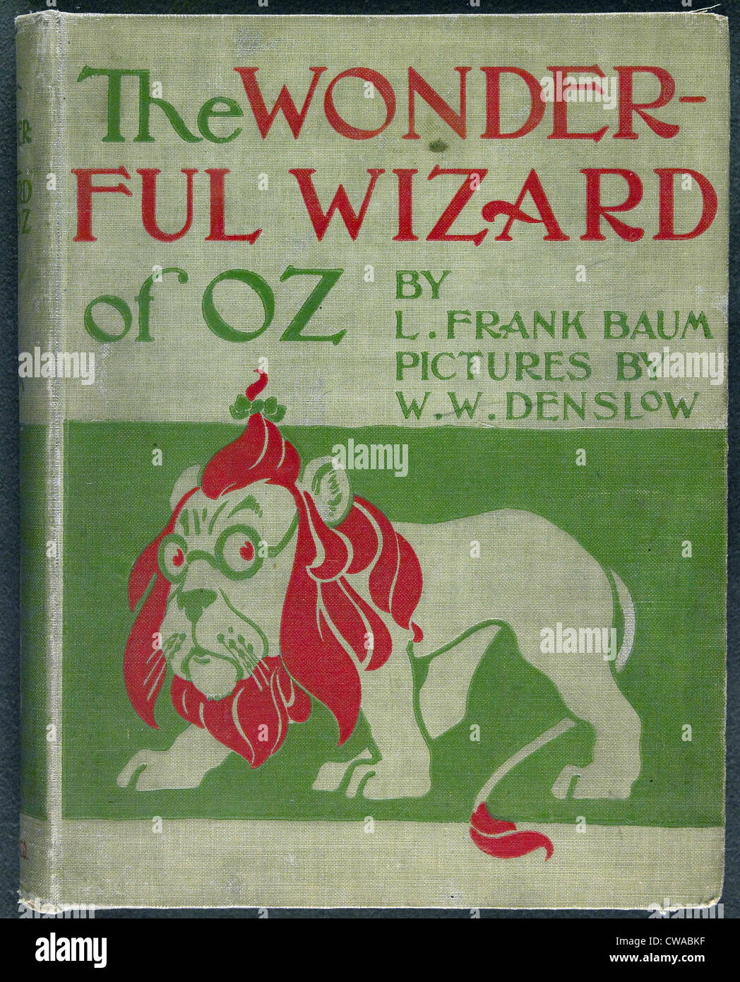1900111102, the wonderful wizard of oz, frank baum, ww denslow.