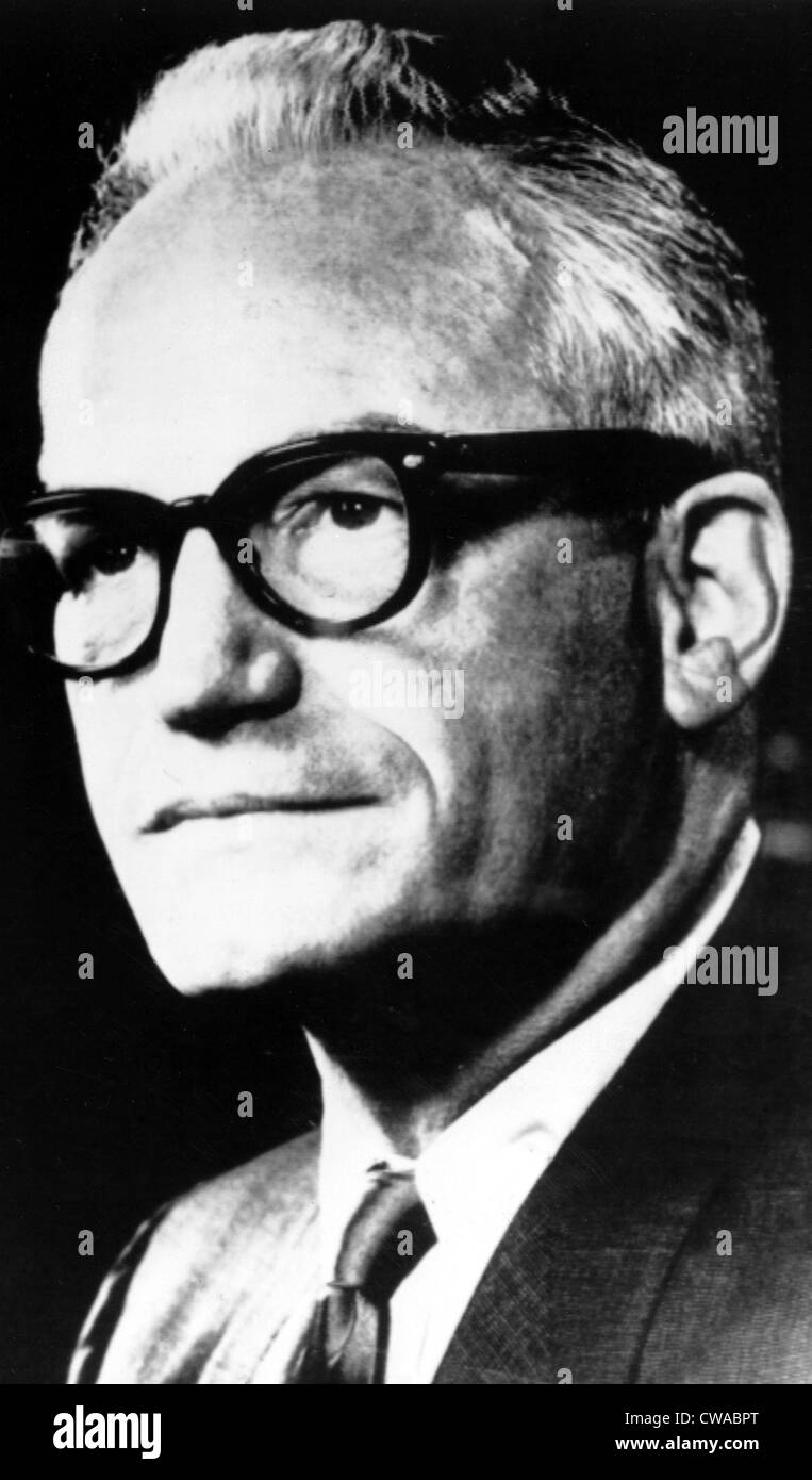 Barry Goldwater, Senator, Arizona, c. 1977.. Courtesy: CSU Archives / Everett Collection - Stock Image