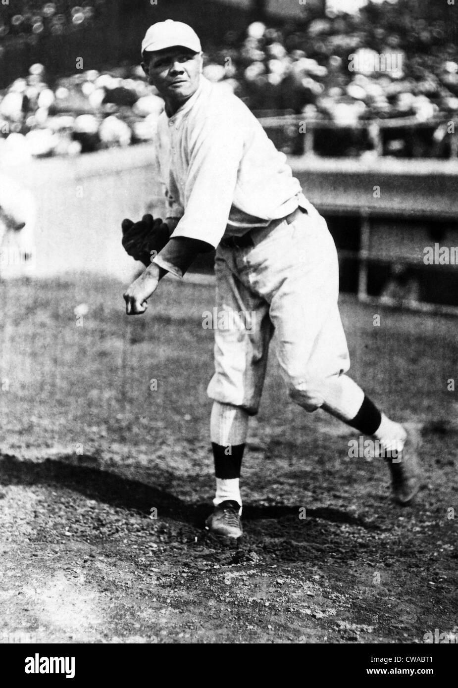 Babe Ruth (1895-1948), American Baseball player, circa 1930s. Courtesy: CSU Archives/Everett Collection - Stock Image