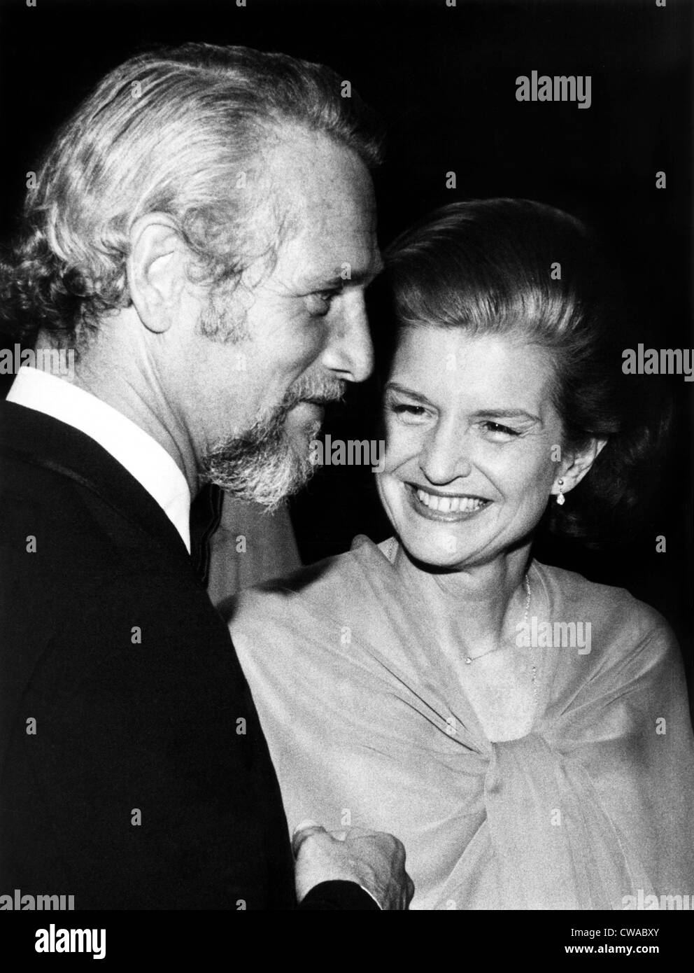 Betty Ford and Paul Newman, 1975. Courtesy: CSU Archives / Everett Collection - Stock Image