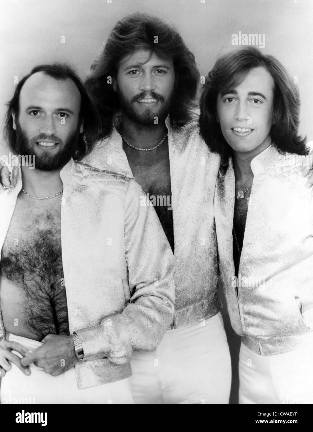 The Bee Gees, Maurice Gibb, Barry Gibb, Robin Gibb, 1979. Courtesy: CSU Archives/Everett Collection - Stock Image
