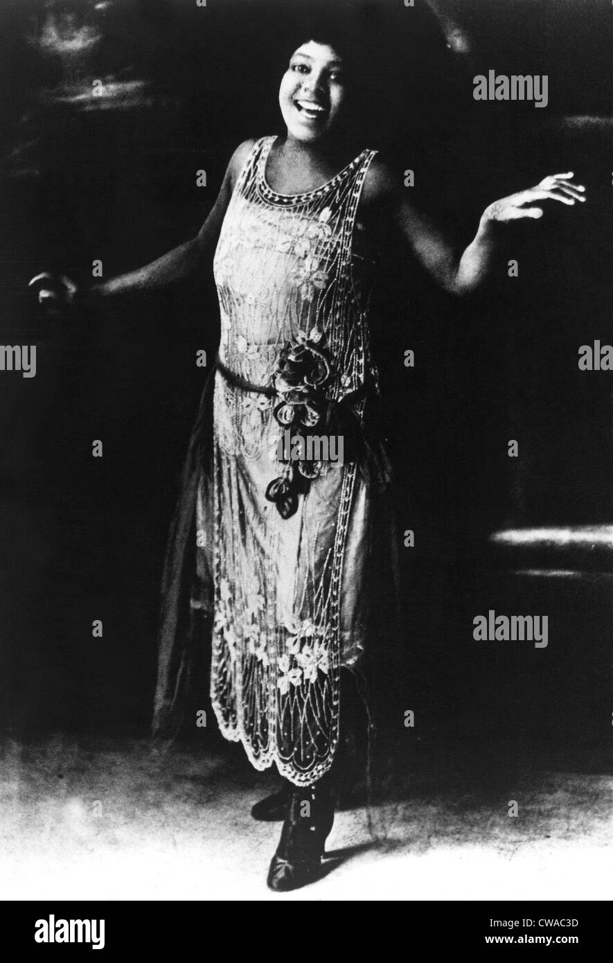 Bessie Smith, blues singer, 1920s. Courtesy: CSU Archives / Everett Collection - Stock Image
