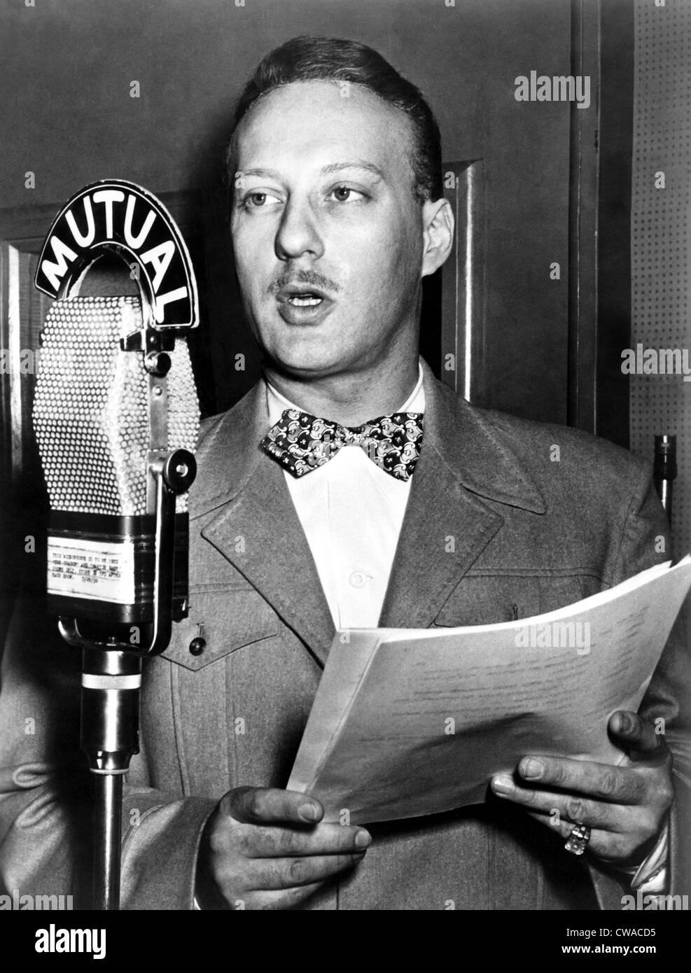 Bret Morrison, circa 1950s. Courtesy: CSU Archives / Everett Collection - Stock Image