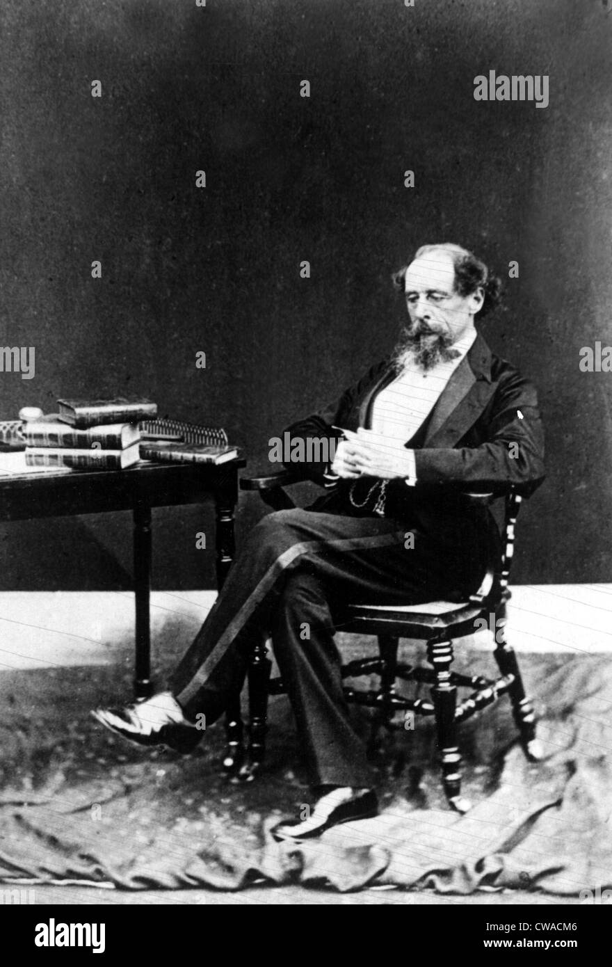 Charles Dickens. Courtesy: CSU Archives / Everett Collection - Stock Image