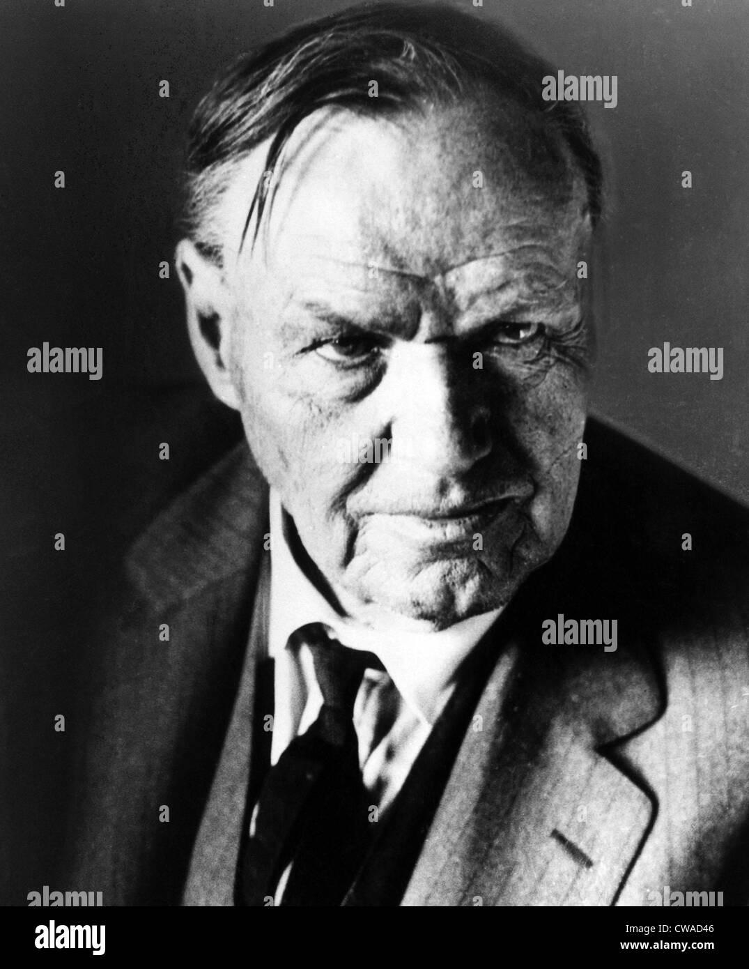 Clarence Darrow, circa 1930s. Courtesy: CSU Archives/Everett Collection - Stock Image