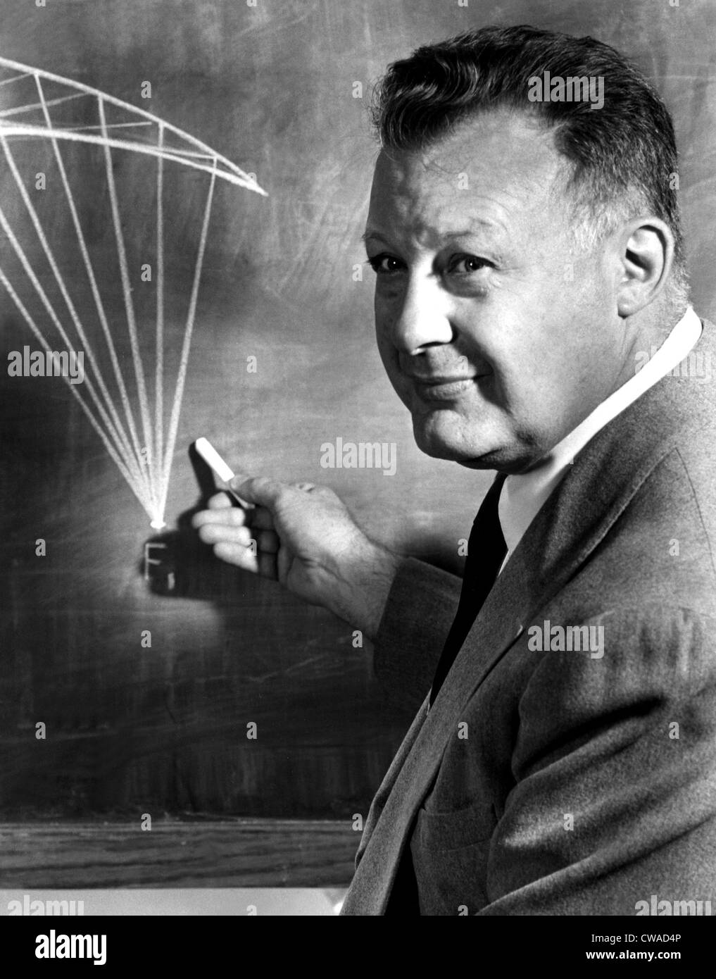 CLIFTON FADIMAN, 10/25/57. Courtesy: CSU Archives / Everett Collection - Stock Image