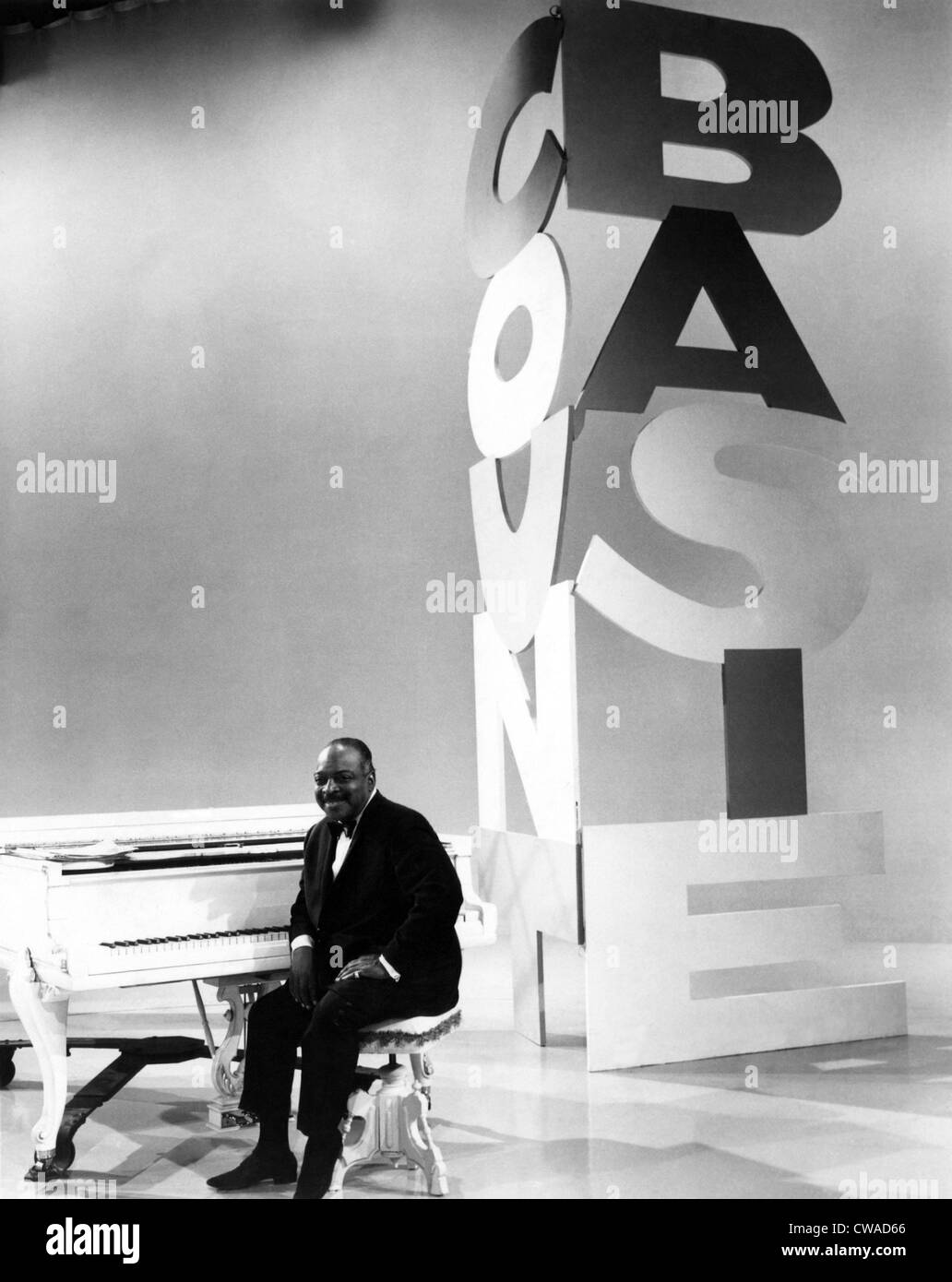 Count Basie, 1965. Courtesy: CSU Archives/Everett Collection - Stock Image