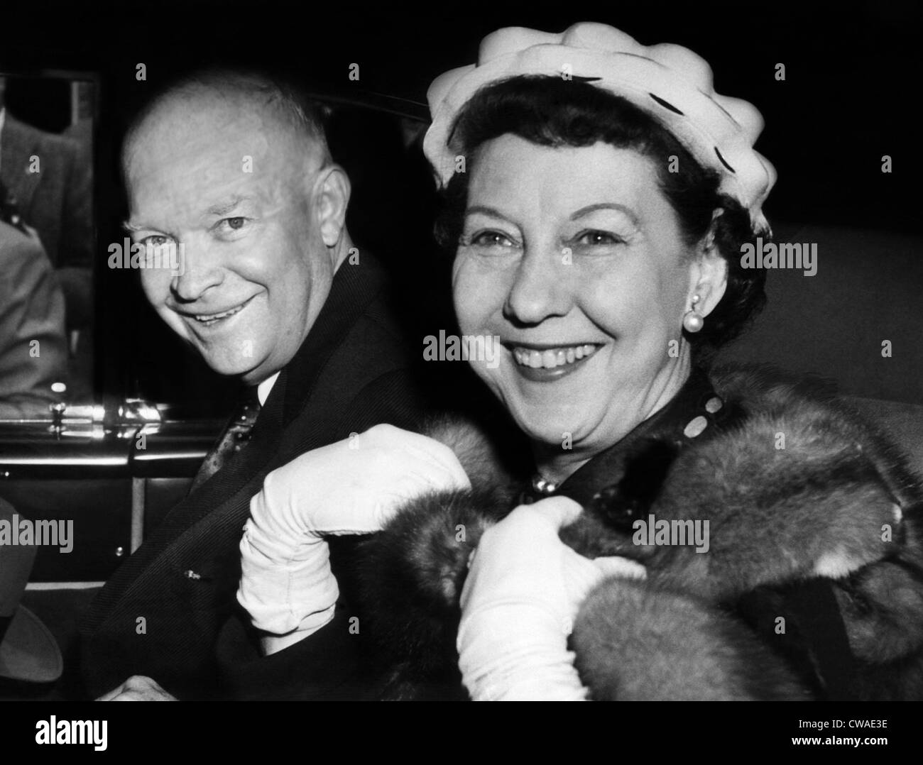 6 Sizes! Eisenhower with his wife New Photo: Future President Dwight D Mamie