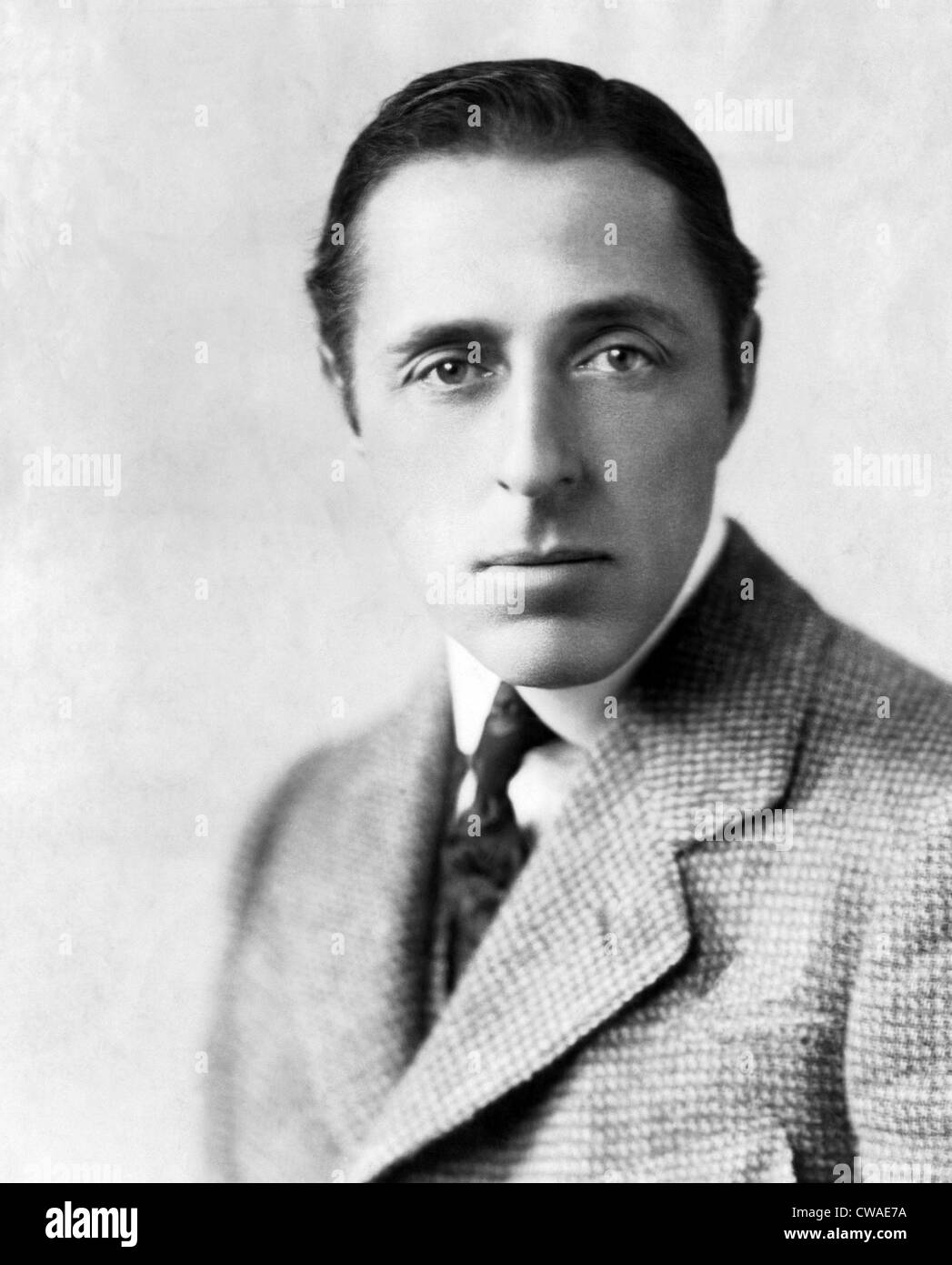 Film Director D.W. Griffith. ca. 1925 Courtesy: CSU Archives/Everett Collection. - Stock Image