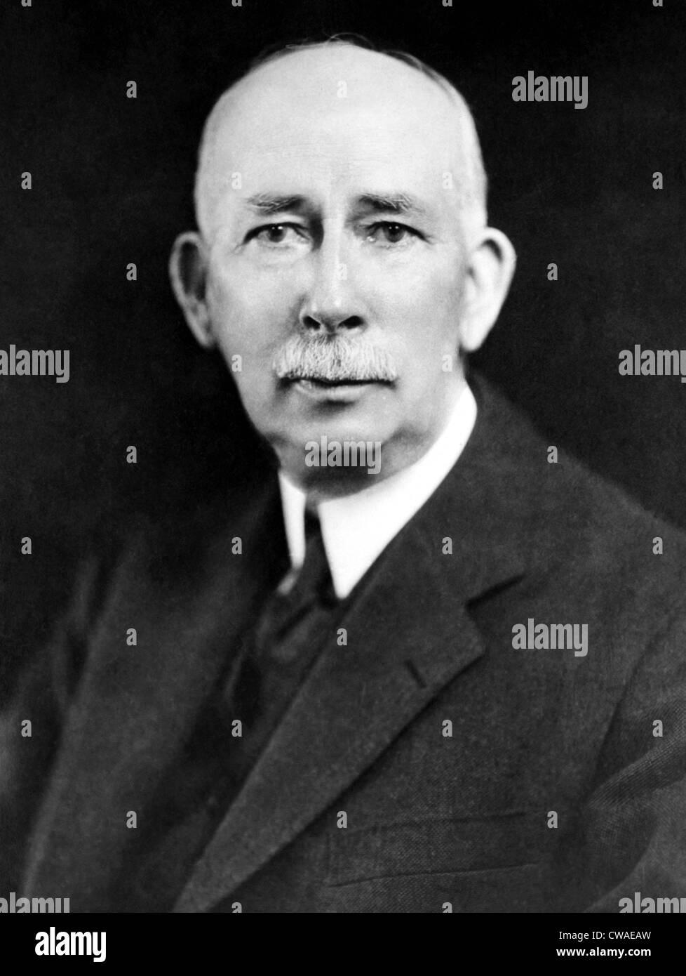 Col. Edward M. House, World War I advisor to the President Wilson.ca 1930s. Courtesy: CSU Archives/Everett Collection. - Stock Image