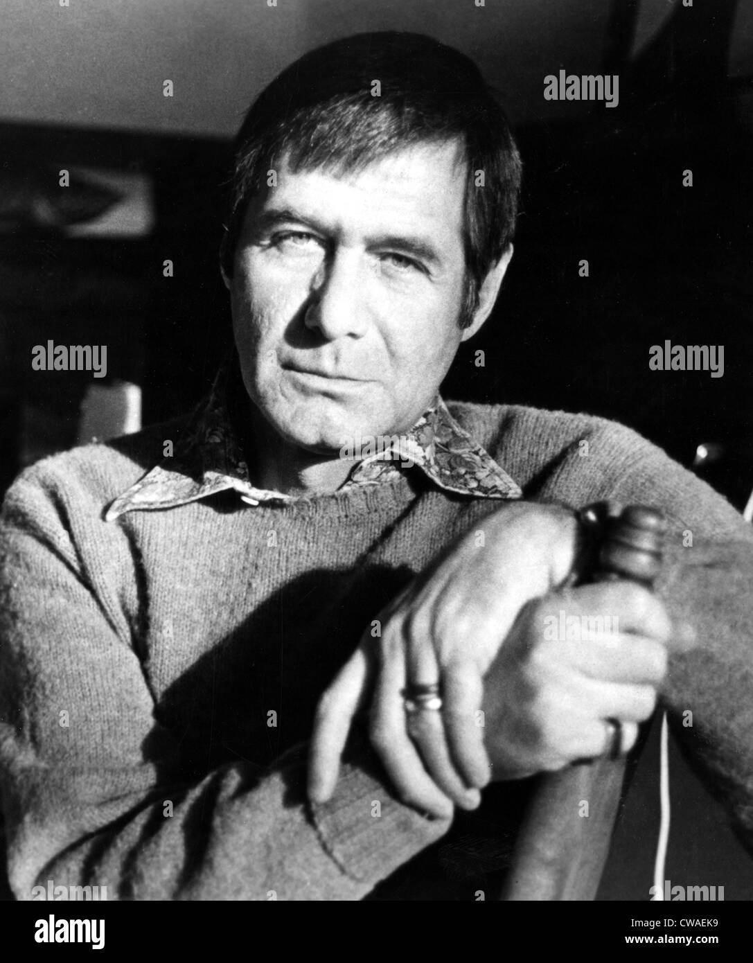 Evan Hunter, aka Ed McBain, circa 1978.. Courtesy: CSU Archives / Everett Collection - Stock Image
