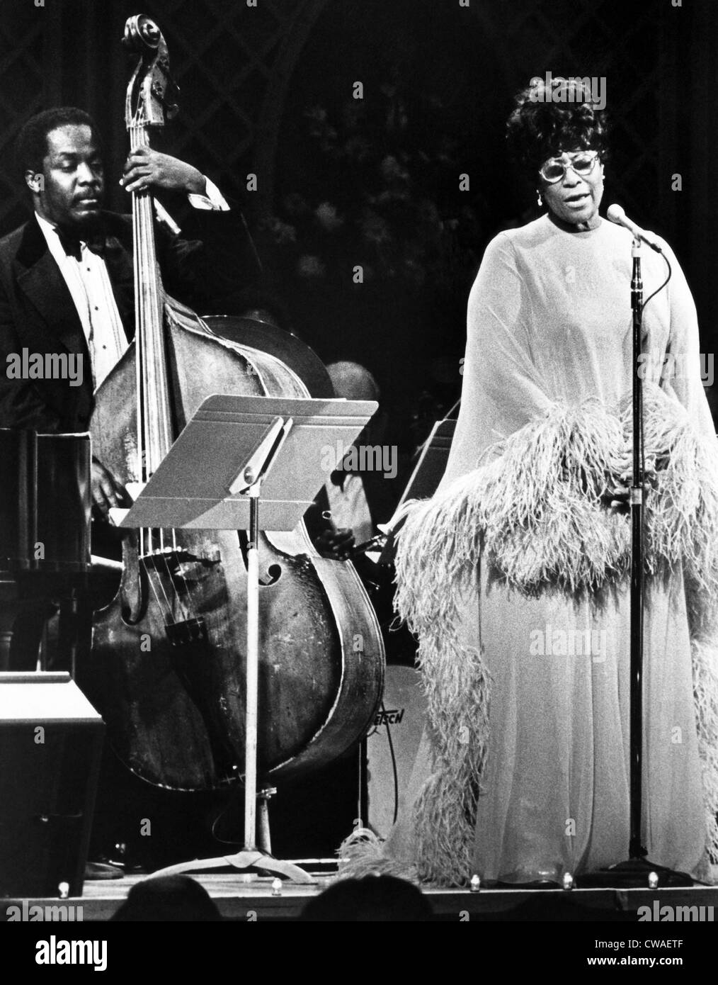 Ella Fitzgerald, performing on Evening at Pops ca. 1970s. Courtesy: CSU Archives/Everett Collection. Stock Photo