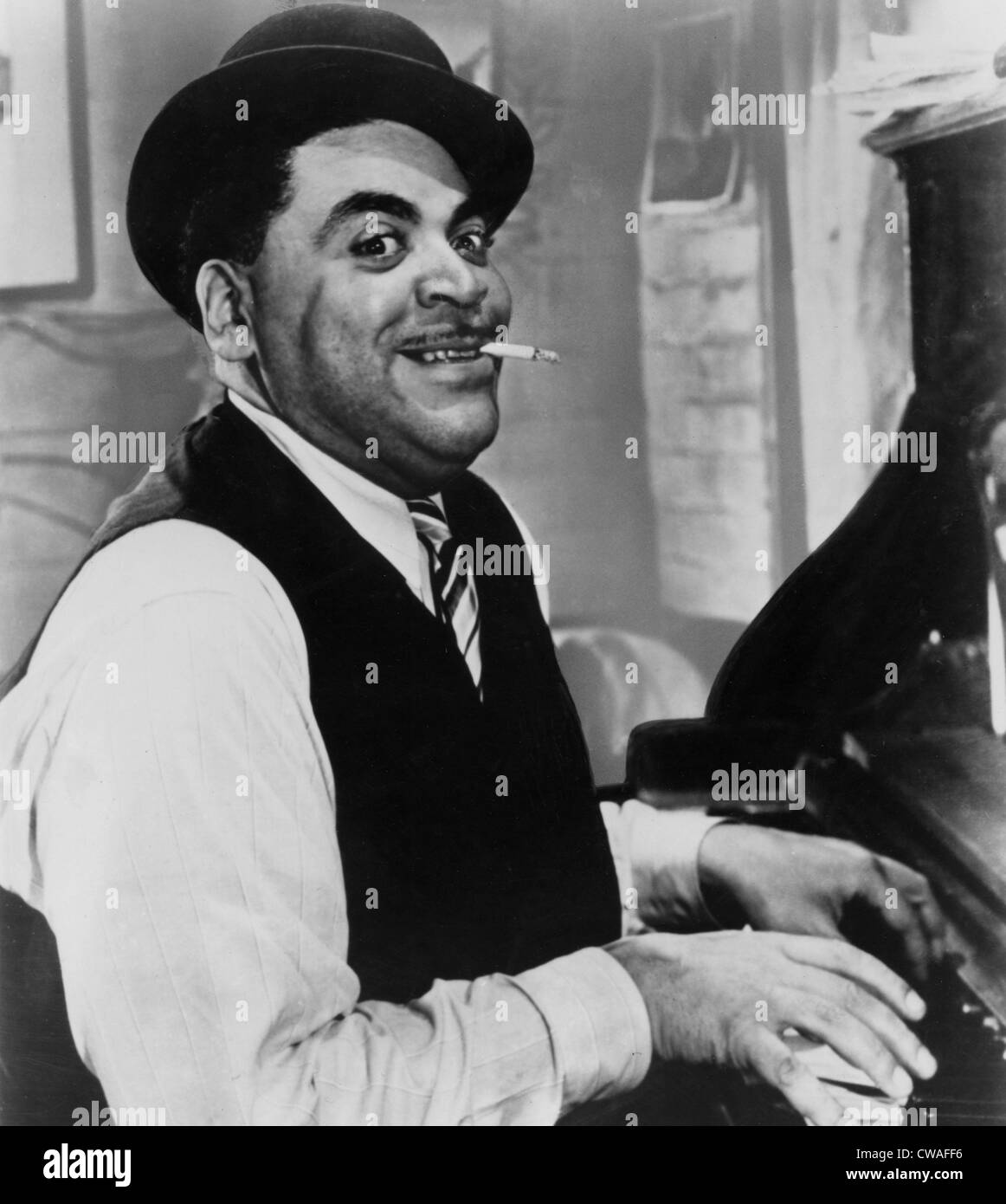 Fats Waller, (real name Thomas), 1930s. Courtesy: CSU Archives / Everett Collection - Stock Image