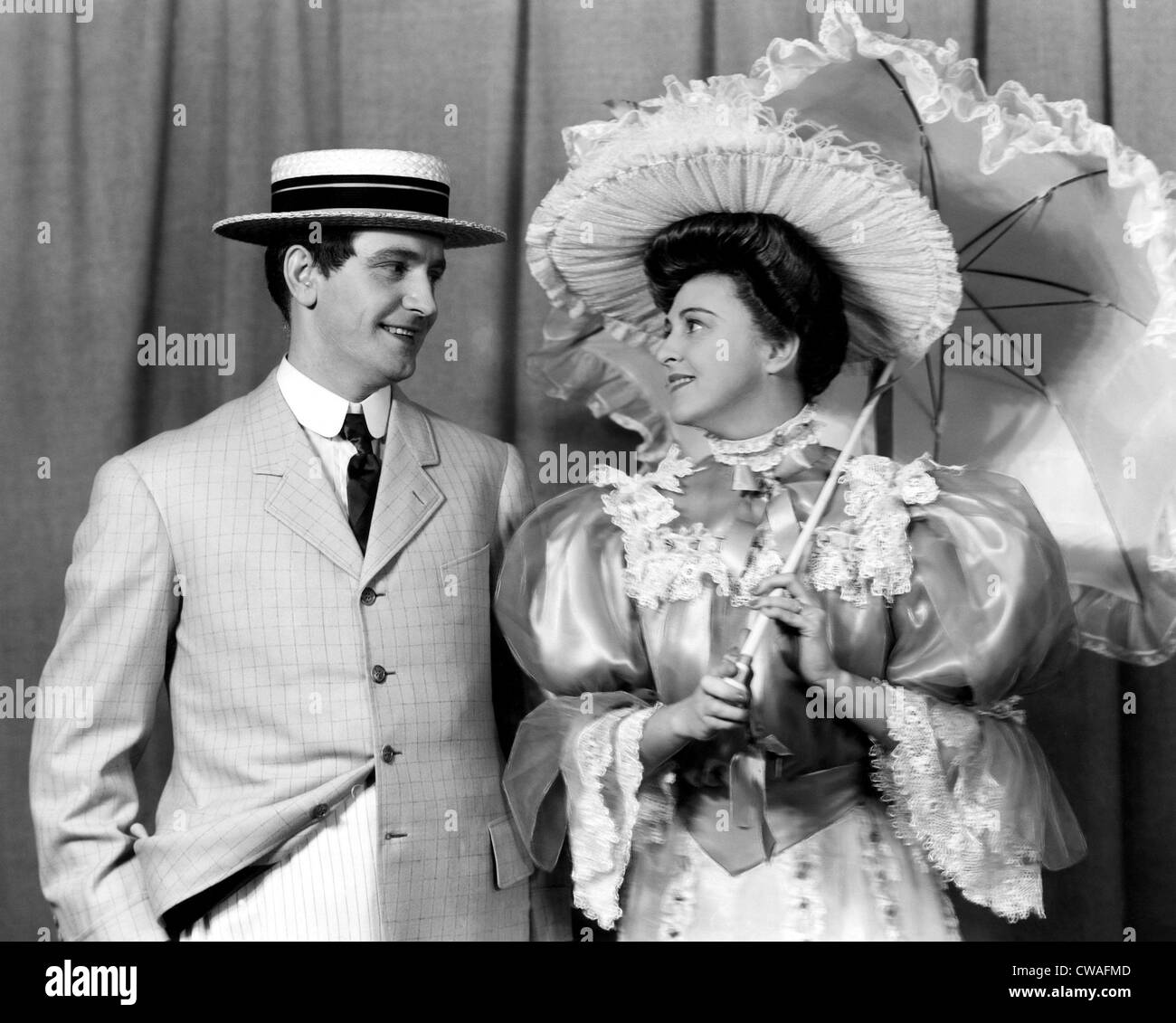 Fredric March, and Florence Eldridge, circa 1939. Courtesy: CSU Archives/Everett Collection - Stock Image