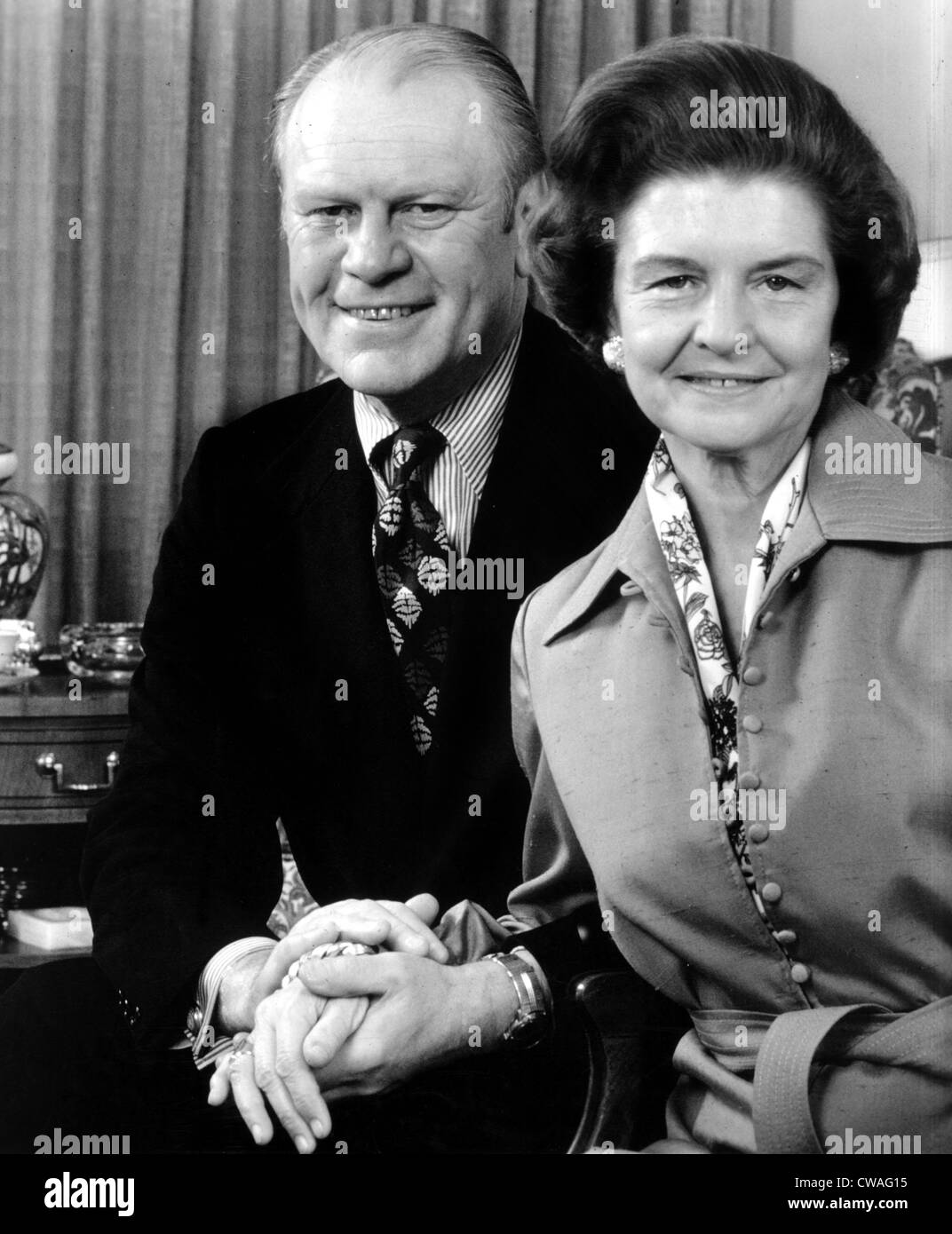 Vice President Gerald Ford and wife Betty Ford, 1974. Courtesy: CSU Archives / Everett Collection - Stock Image