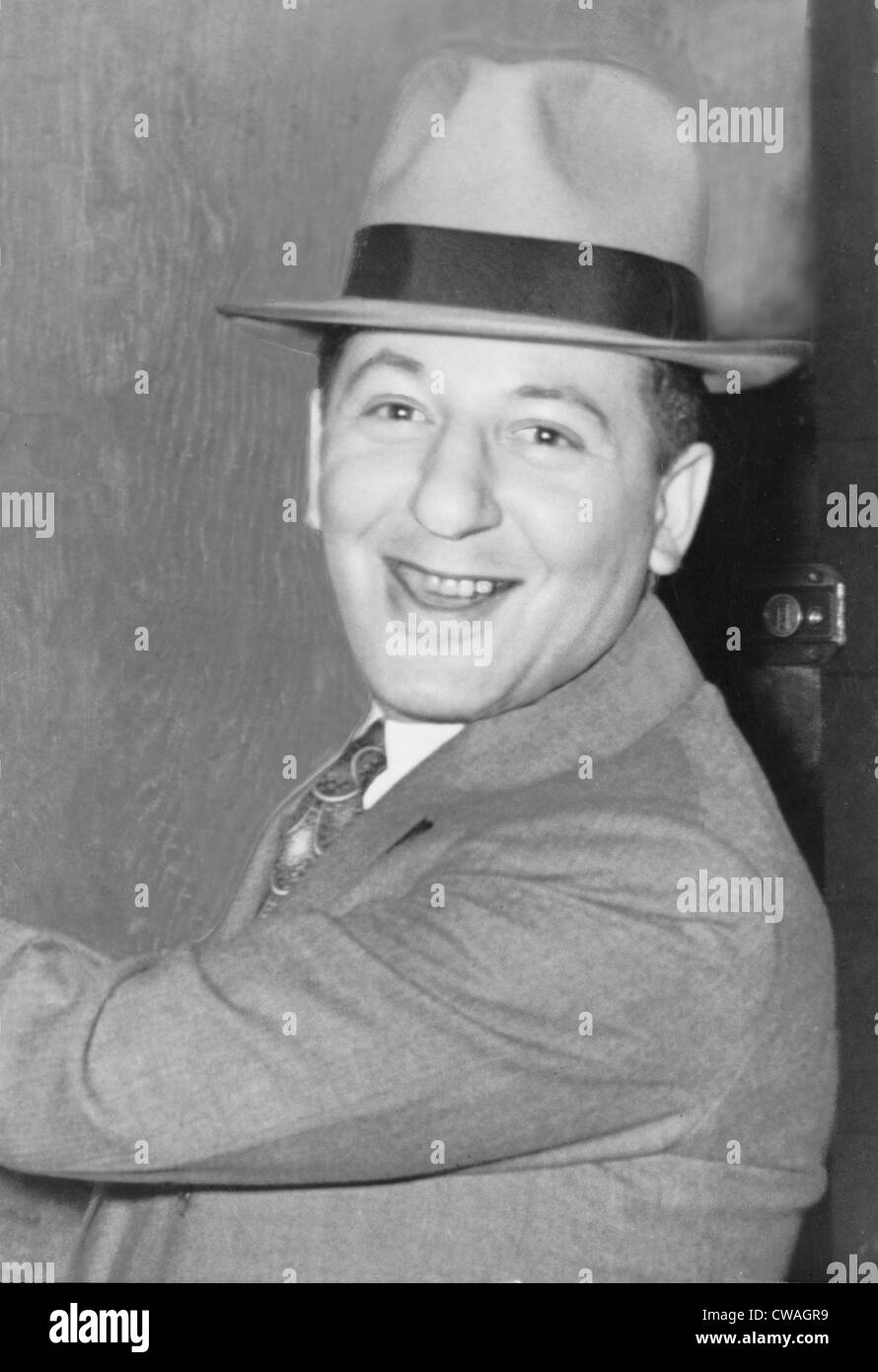 Louis 'Lepke' Buchalter (1887-1944), gangster founded of 'Murder for Hire.'  In 1944, was executed - Stock Image