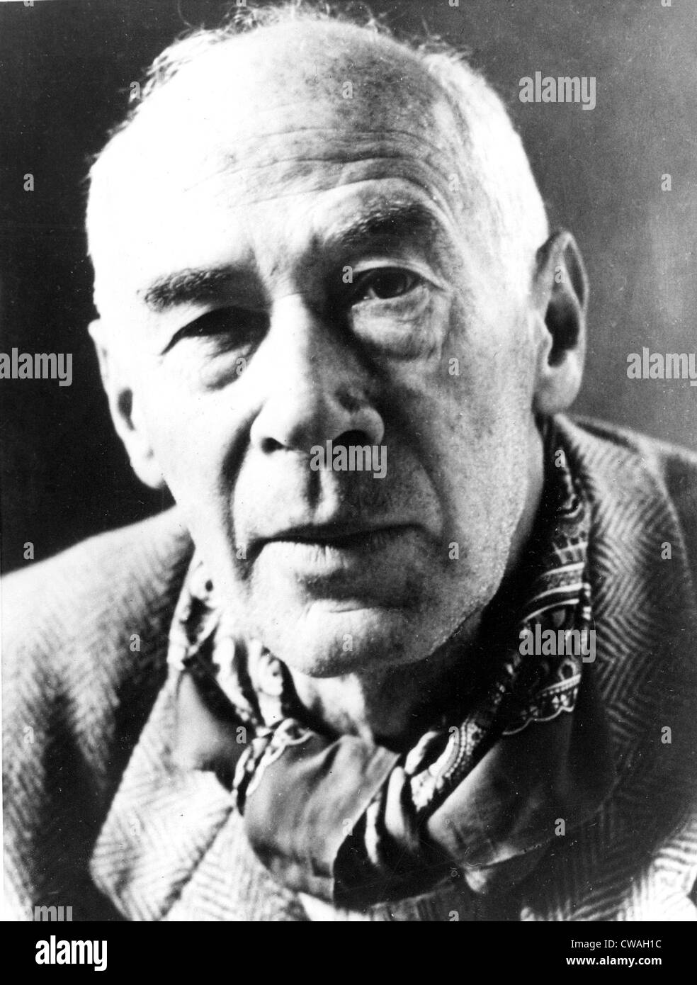 Henry Miller, early 1960s. Courtesy: CSU Archives / Everett Collection - Stock Image