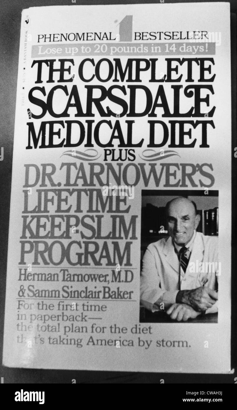 Dr. Herman Tarnower (1910-1980), author of the Scarsdale Diet, murdered by his mistress Jean Harris, circa 1979. - Stock Image
