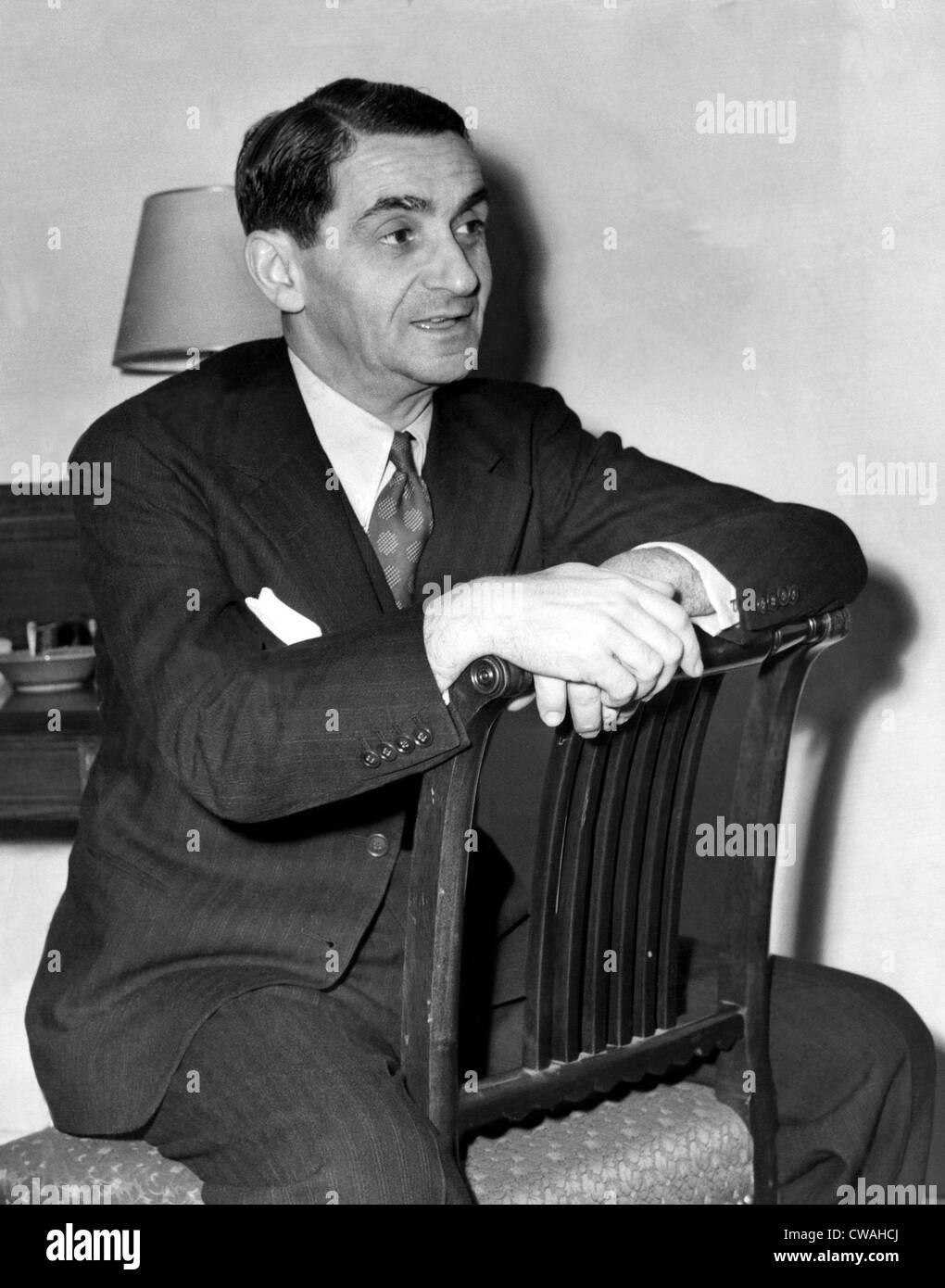 Irving Berlin, 1942. Courtesy: CSU Archives/Everett Collection - Stock Image