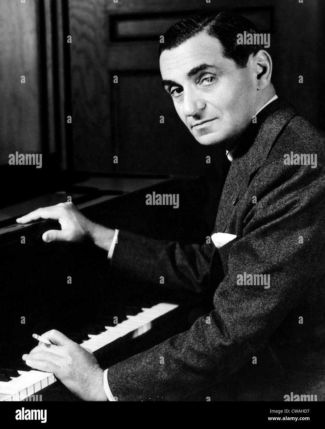 Irving Berlin, 1948. Courtesy: CSU Archives/Everett Collection - Stock Image