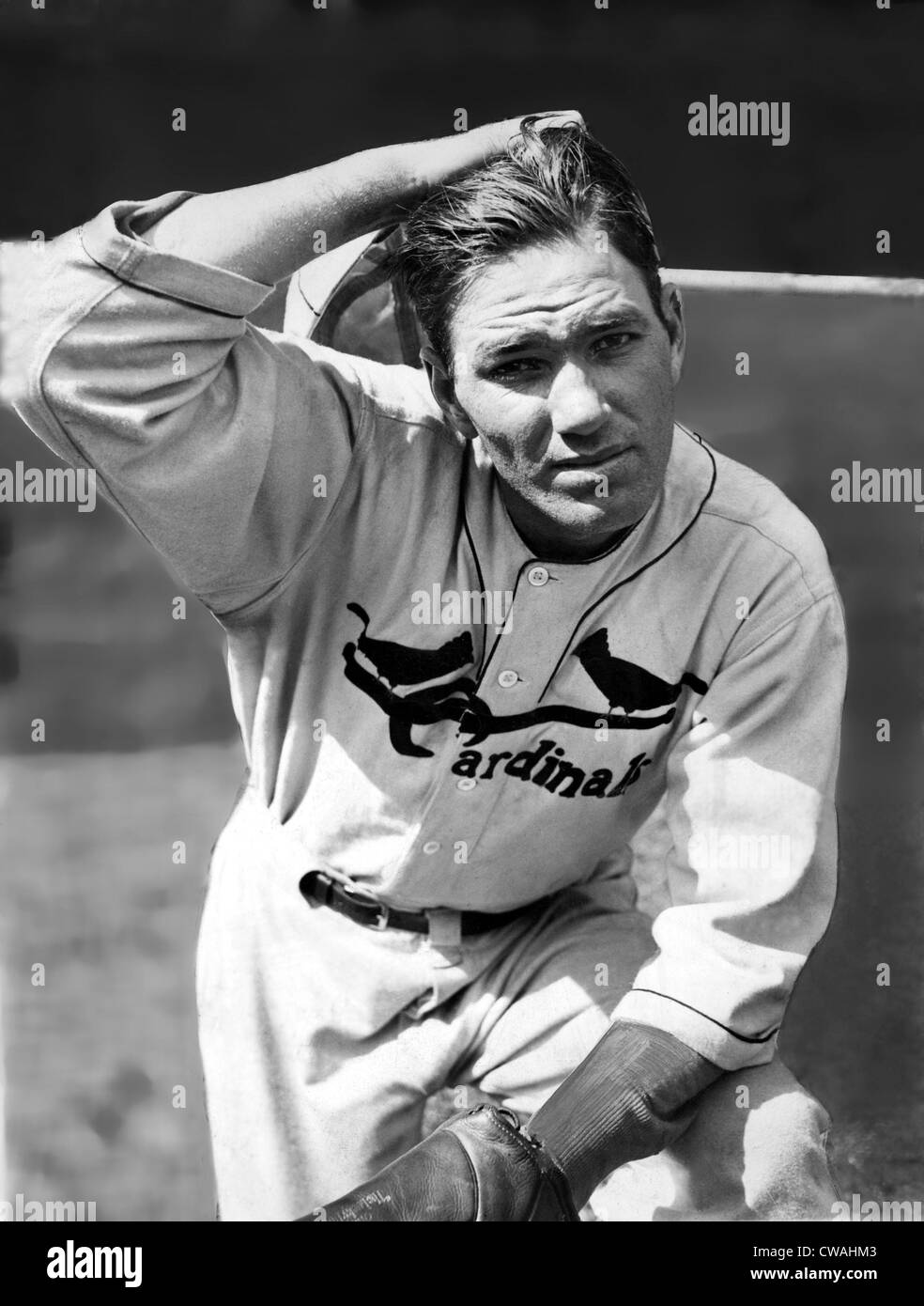 Jay Hanna 'Dizzy' Dean, (1910-1974) ace pitcher for St. Louis Cardinals during 1930s, 10/1/34. Courtesy: - Stock Image