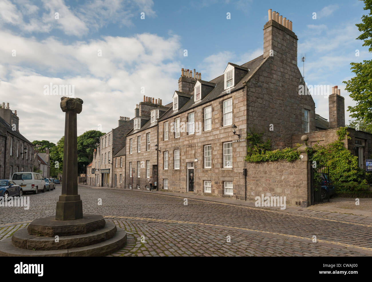 Old Aberdeen - Stock Image