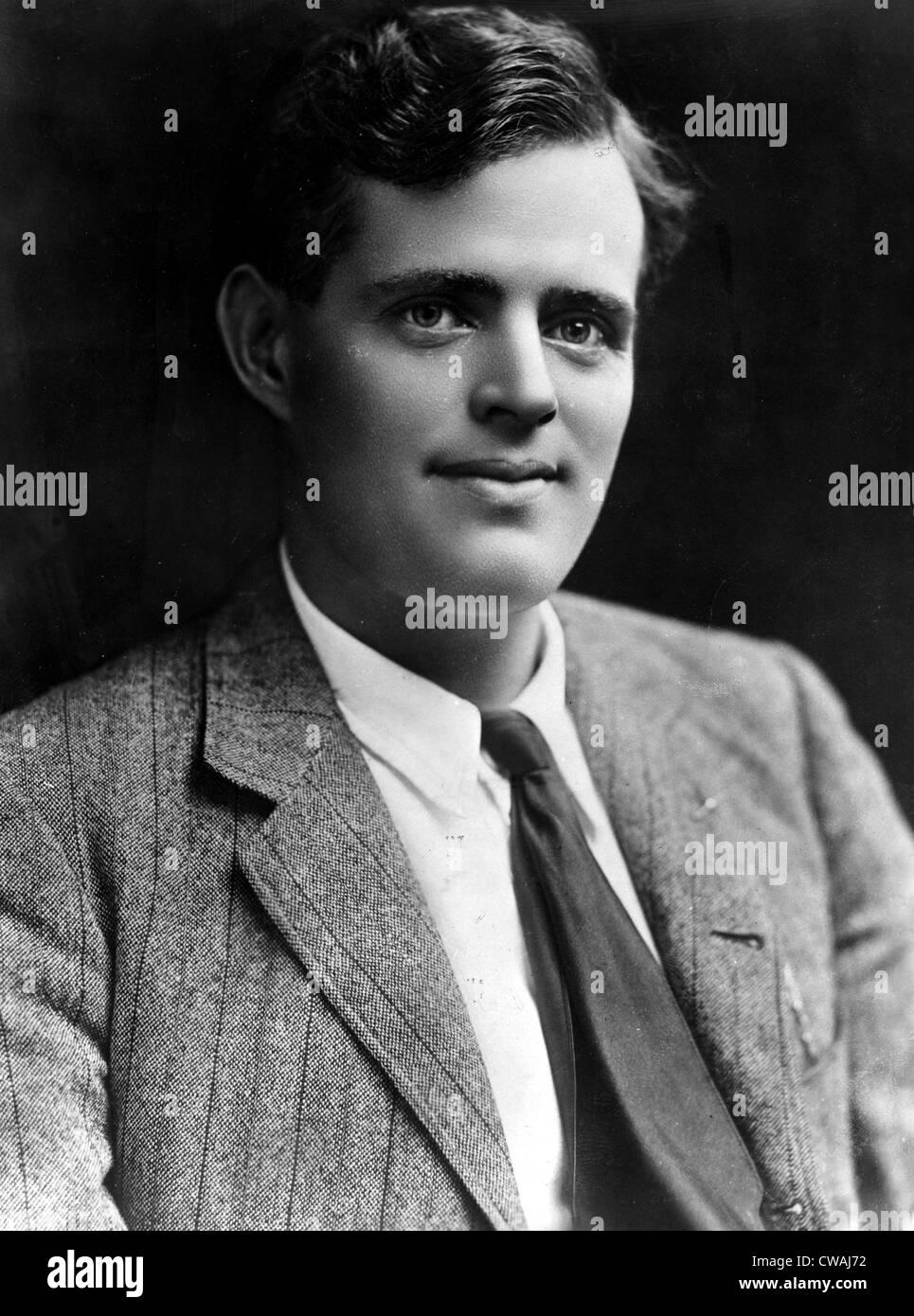 Jack London, circa 1900. Courtesy: CSU Archives / Everett Collection - Stock Image