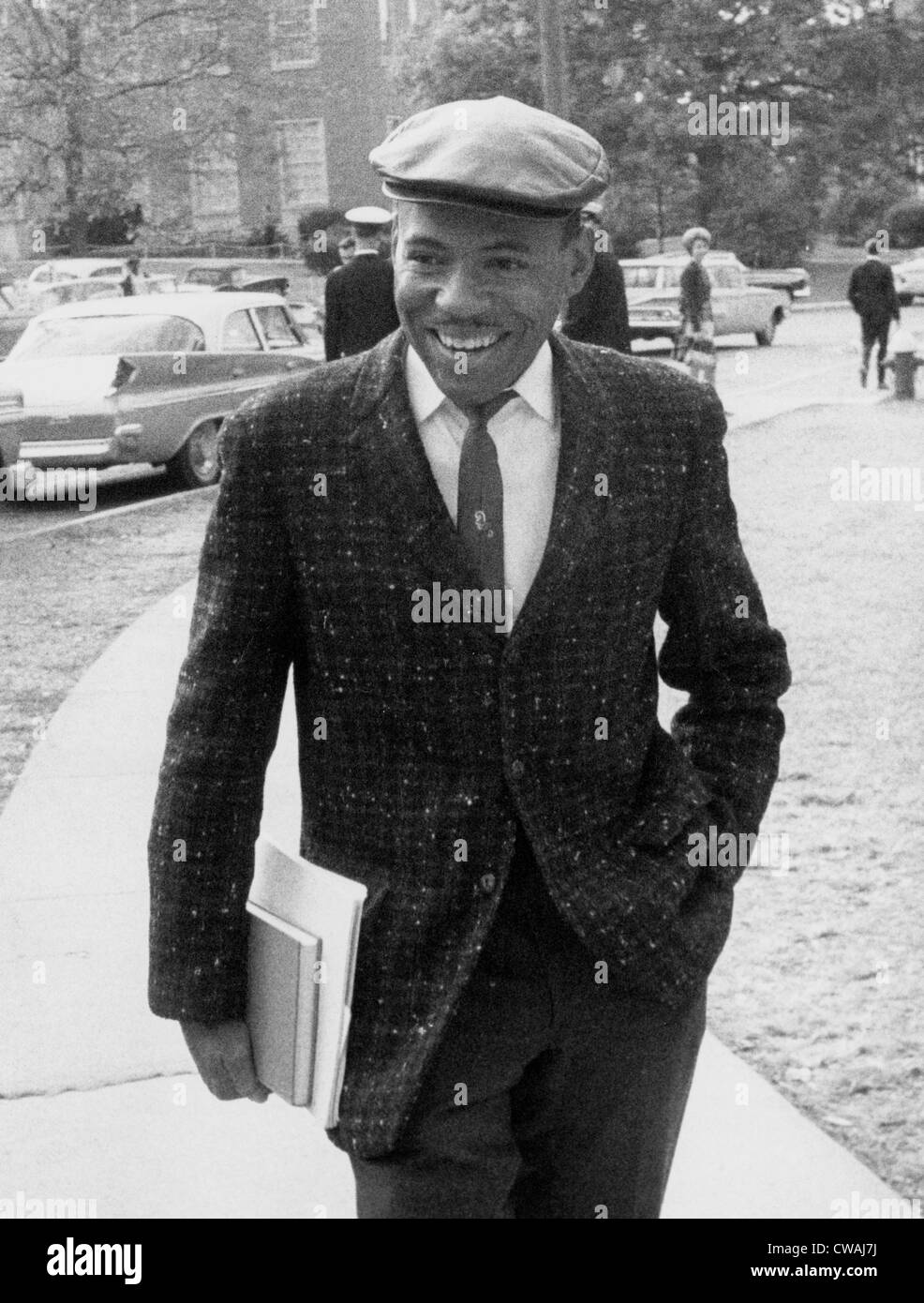 James Meredith, first African American ever enrolled at the University of Mississippi, Oxford, MS, November 03, - Stock Image