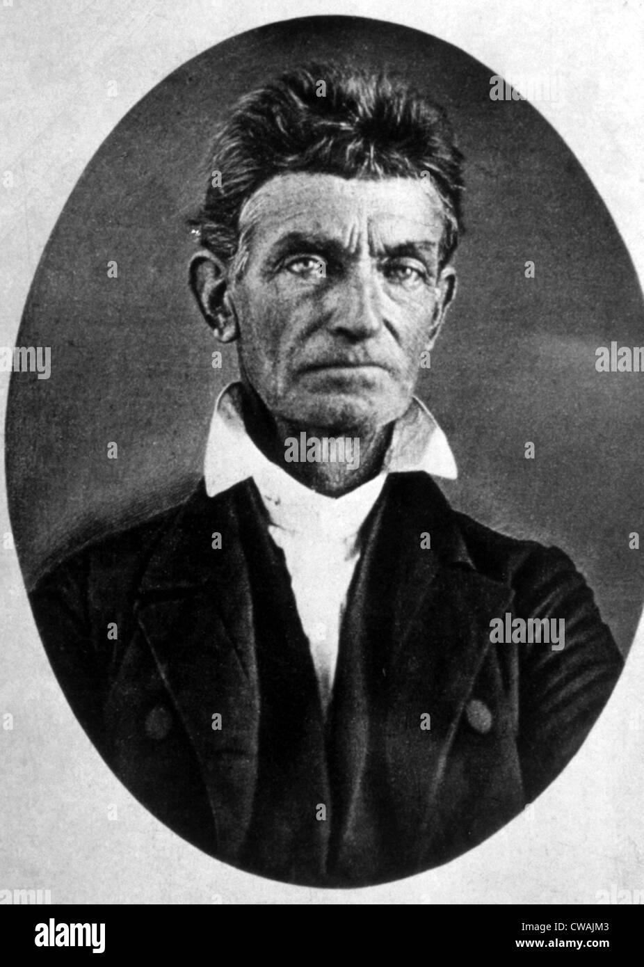 Abolitionist JOHN BROWN. Courtesy: CSU Archives / Everett Collection Stock Photo