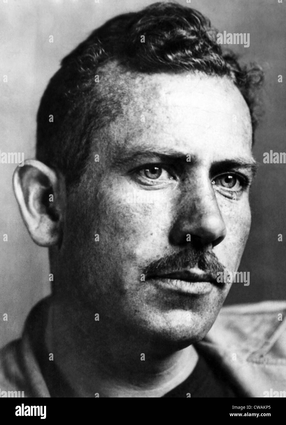 John Steinbeck (1902-1968), American author, circa 1930s. Courtesy: CSU Archives/Everett Collection. - Stock Image