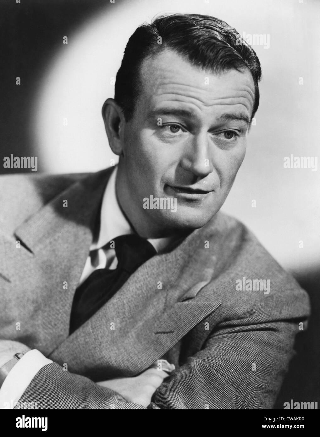 John Wayne (1907-1979), American actor, circa 1950. Courtesy: CSU Archives/Everett Collection - Stock Image