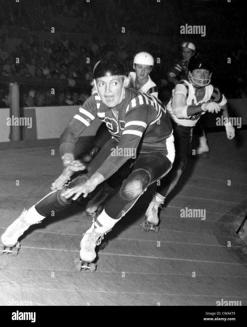 Joan Weston roller derby