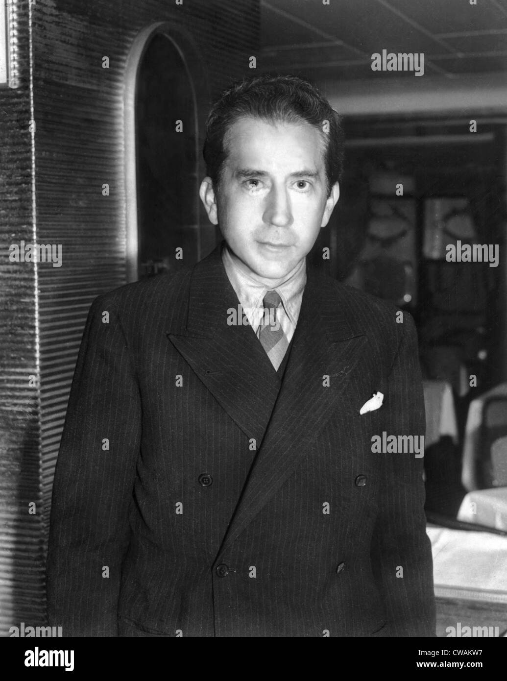 J. Paul Getty, ca. 1957. Courtesy: CSU Archives / Everett Collection - Stock Image
