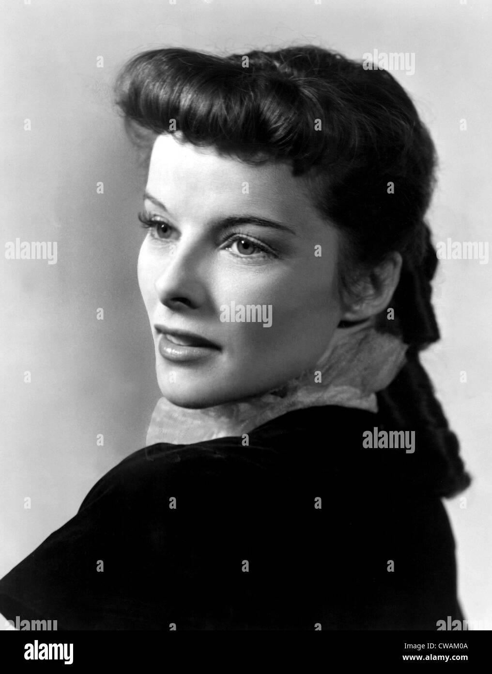 Katharine Hepburn, 1937. Courtesy: CSU Archives / Everett Collection - Stock Image