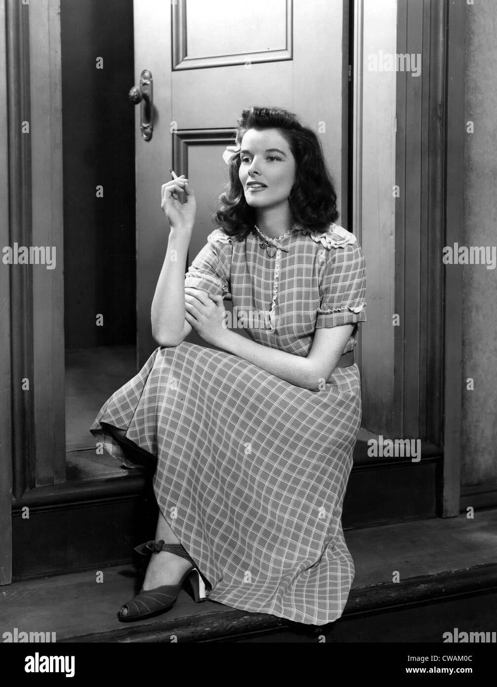 Katharine Hepburn in the Broadway stage production of THE PHILADELPHIA STORY. Courtesy: CSU Archives / Everett Collection - Stock Image