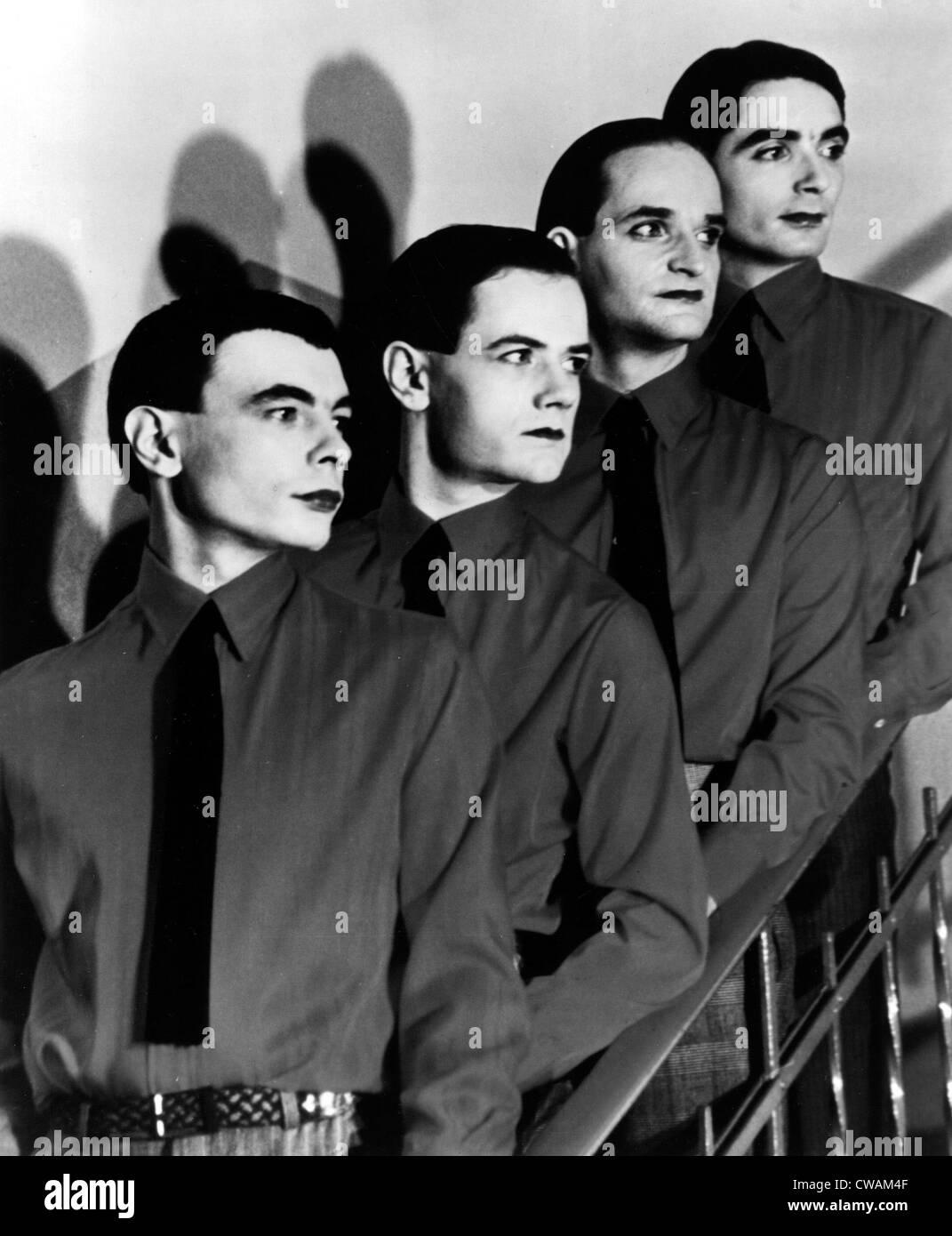 Kraftwerk, 1970s. Courtesy: CSU Archives / Everett Collection Stock Photo