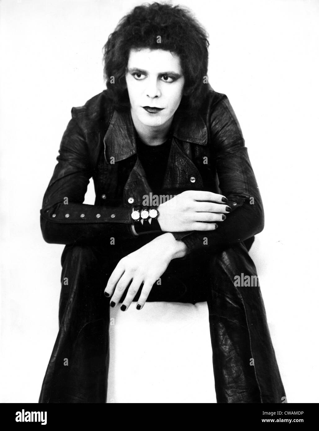 Lou Reed, circa 1973. Courtesy: CSU Archives / Everett Collection - Stock Image