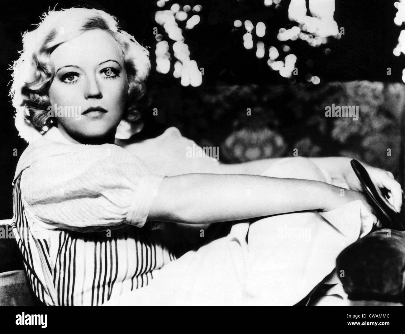 Marion Davies, ca 1930s. Courtesy: CSU Archives/Everett Collection - Stock Image
