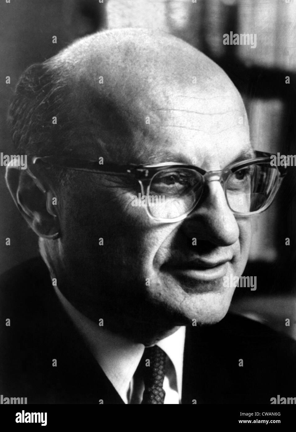 Milton Friedman, 1971  © CSU Archives/courtesty Everett Collection - Stock Image