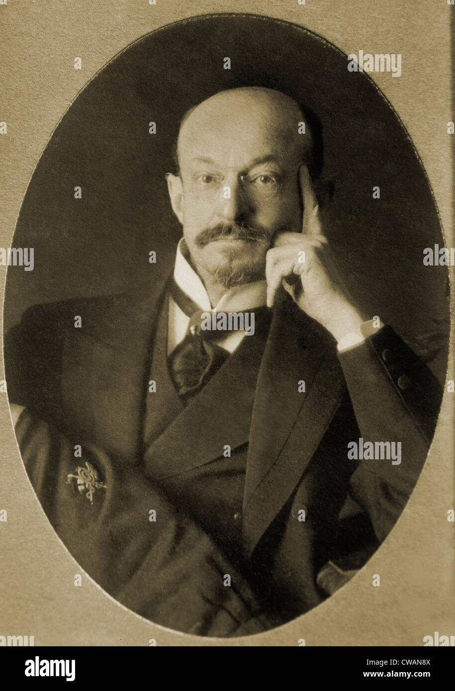 Daniel Frohman (1860-1915), was the most prominent American theatrical producer from the 1890's until his death - Stock Image