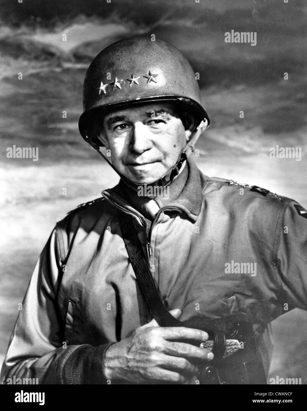 Omar N. Bradley, General   and Author, 1951. Courtesy: CSU Archives / Everett Collection - Stock Image
