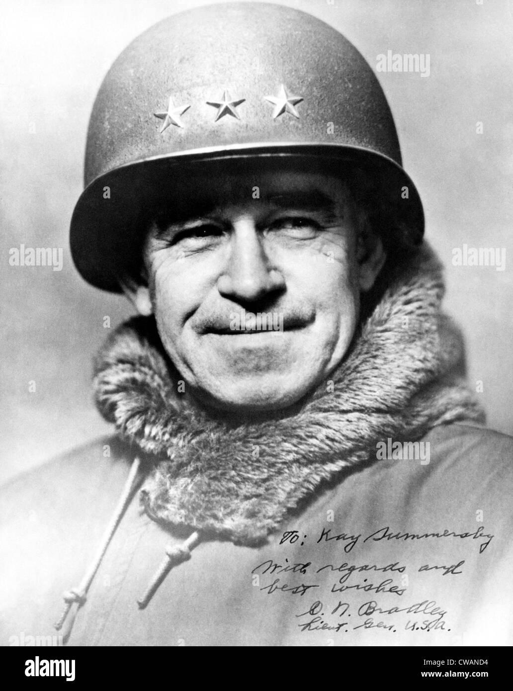 General Omar Bradley, 1948. Courtesy: CSU Archives/Everett Collection - Stock Image