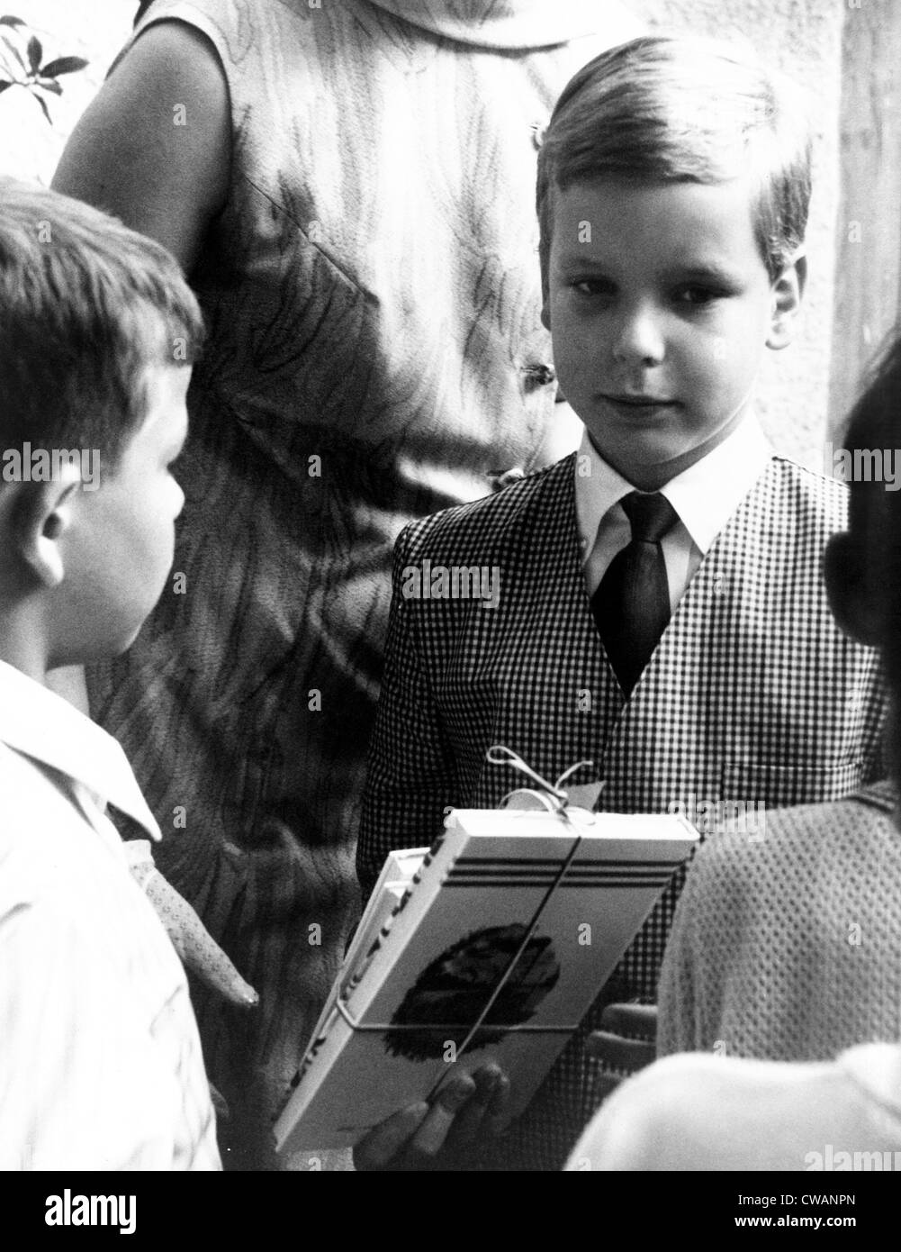 Prince Albert, heir apparent to the Monaco throne, 1967. Courtesy: CSU Archives / Everett Collection - Stock Image