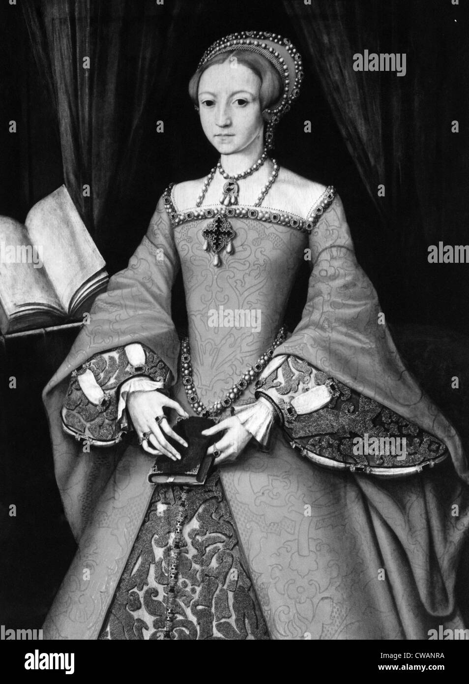 Elizabeth I, (1533-1603), Queen of England 1558-1603, c. 1546.. Courtesy: CSU Archives / Everett Collection - Stock Image